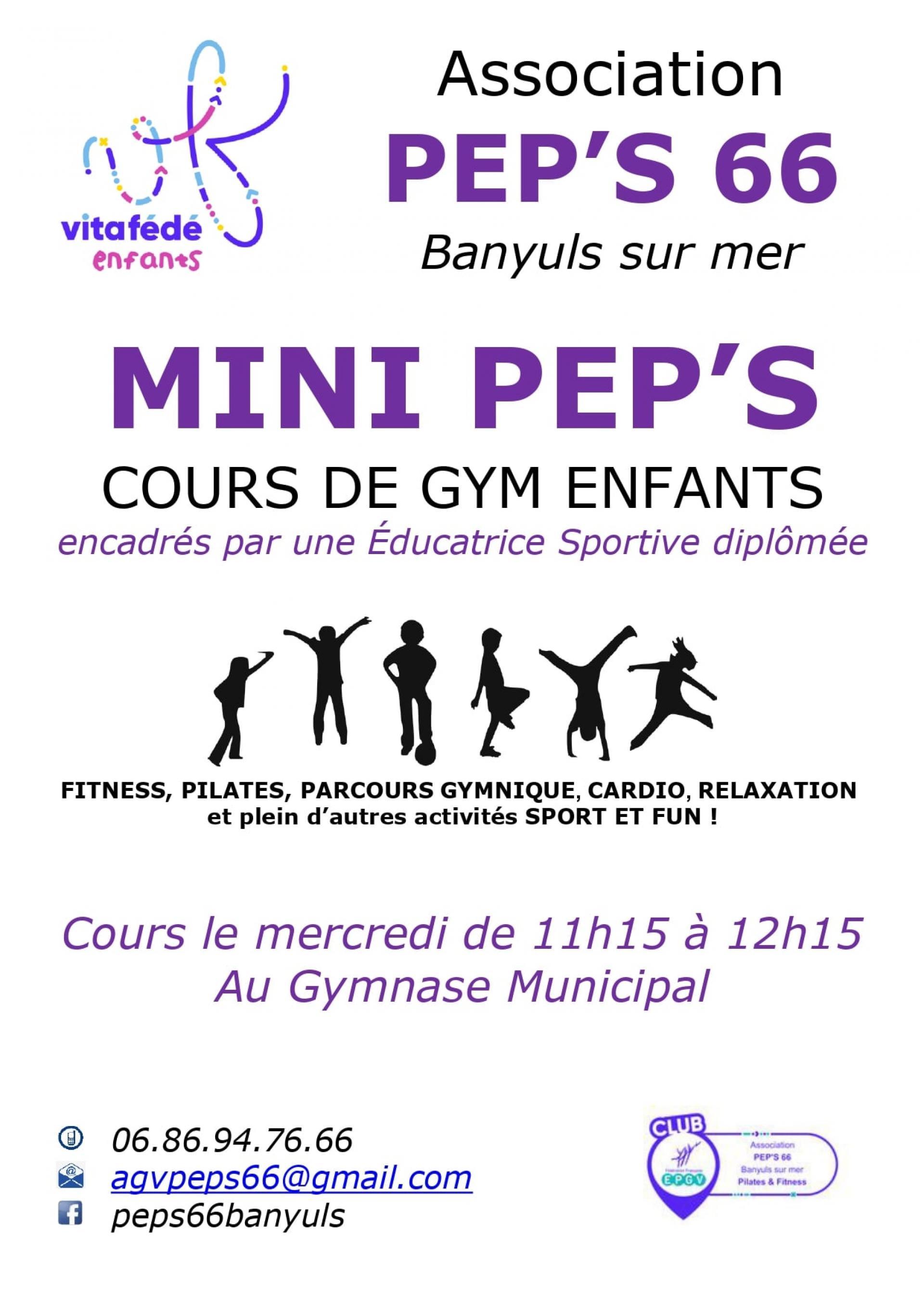 Peps 66 Gym Enfants